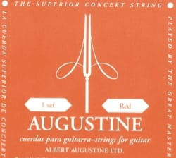Cordes pour Guitare AUGUSTINE - AUGUSTINE Red Guitar String Set Normal pulling - Accessory - di-arezzo.com