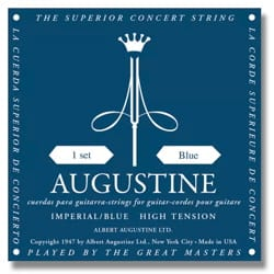 Cordes pour Guitare AUGUSTINE - AUGUSTINE Imperial Blue Guitar String Set - Accessory - di-arezzo.co.uk