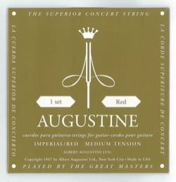 Cordes pour Guitare AUGUSTINE - AUGUSTINE Red Imperial String Strings for Guitar - Accessory - di-arezzo.com