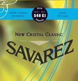 Cordes pour Guitare Classique - JEU de Cordes pour Guitare SAVAREZ CRISTAL CLASSIC BLEU tension forte - Accessoire - di-arezzo.fr