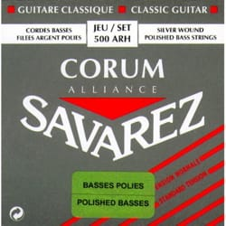 Cordes pour Guitare Classique - SET of Strings for Guitar SAVAREZ ALLIANCE CORUM Low polished pulling standard - Accessoire - di-arezzo.com