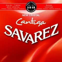 Cordes pour Guitare Classique - Guitar String Set SAVAREZ CANTIGA NEW CRYSTAL RED Normal Voltage - Accessory - di-arezzo.co.uk
