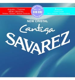 Cordes pour Guitare Classique - SET de cuerdas para guitarra SAVAREZ CANTIGA NEW CRYSTAL BLUE / RED tension mi - Accesorio - di-arezzo.es