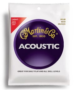Cordes pour Guitare - Guitar String Set MARTIN FOLK Bronze light - 12-54 - Accessory - di-arezzo.co.uk