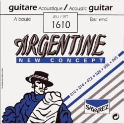 Cordes pour Guitare Manouche - Argentina Strings Gypsy Guitar with Extra Light Ball 010-045 - Accessory - di-arezzo.com