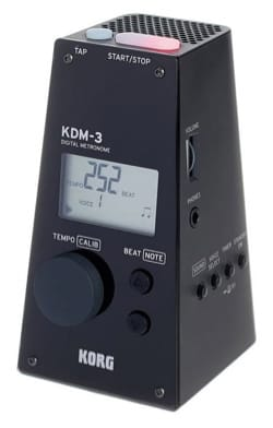 Métronome Electronique - KDM-3 KORG Black - Accessory - di-arezzo.co.uk