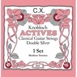 Cordes pour Guitare - Juego de cuerdas de guitarra KNOBLOCH Carbon Tension Medium - Accesorio - di-arezzo.es