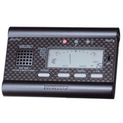 Accordeur pour Guitare et Basse - SAT100 BLACK SEIKO - Tuner for GUITAR and BASS - Accessory - di-arezzo.co.uk