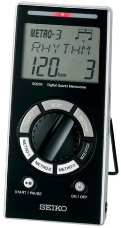 Métronome Electronique - SQ-200 SEIKO - Electronic Metronome - Accessory - di-arezzo.co.uk