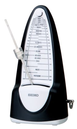 Métronome - SPM 320 BLACK SEIKO - Swinging metronome - Accessory - di-arezzo.co.uk