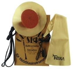 Kits d'entretien instrument pour SAXOPHONE SOPRANO REKA laflutedepan