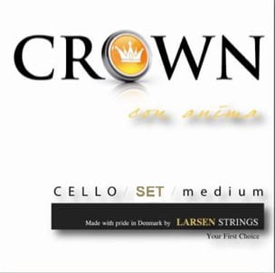 Cordes pour Violoncelle - SET of Strings for CROWN CELLO 4/4 - Accessory - di-arezzo.com