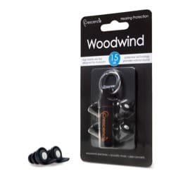 Protections auditives Woodwind Pro - 15 dB laflutedepan