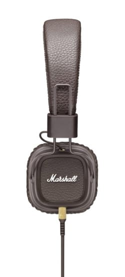 Accessoire pour Musicien - Marshall Major MKII brown headphones for iphone, ipod, MP3 - Accessory - di-arezzo.co.uk