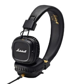 Accessoire pour Musicien - Marshall Major MKII black headphones for iphone, ipod, mp3 - Accessory - di-arezzo.co.uk