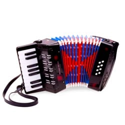 Jeu Musical pour enfant - Accordion Big Black model for child - Accessory - di-arezzo.co.uk