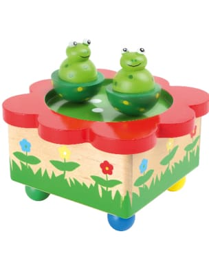 Jeu musical pour enfant - Frogs music box - Accessory - di-arezzo.com