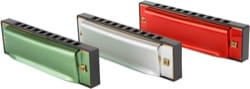 Instrument de Musique : Harmonica - Multicolored Harmonica - Set of 3 - Accessory - di-arezzo.co.uk