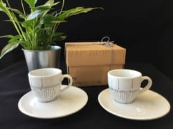 Set de deux tasses à café Cadeaux - Musique Accessoire laflutedepan