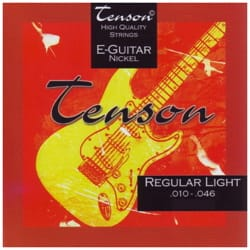 Cordes pour Guitare - Gewa Tenson Nickel Electric Guitar String Set - Game 010-046 - Accessory - di-arezzo.co.uk