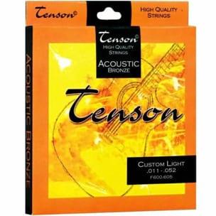 Corde Guitare acoustique Tenson Bronze - Jeu 011-052 laflutedepan