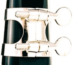 Ligature pour Clarinette - SML Nickel Metal Ligature for Bb Clarinet - Accessory - di-arezzo.com
