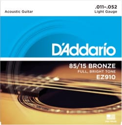 Cordes pour Guitare Acoustique - ADDARIO EZ910 String Set - Light 11-52 - GUITAR FOLK - Accessory - di-arezzo.com
