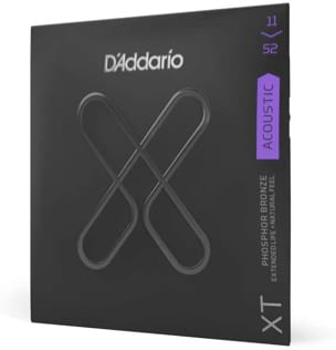 Cordes pour Guitare Acoustique - ADDARIO String Set - Custom Light 11-15-22-32-42-52 - Accessory - di-arezzo.co.uk