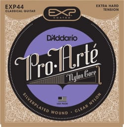Cordes pour Guitare Classique - ADDARIO PRO ARTE Juego de cuerdas - Nylon plateado extra duro / transparente - Accesorio - di-arezzo.es