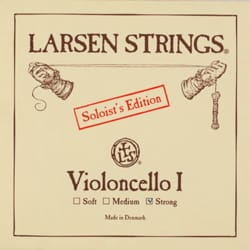 Cordes pour Violoncelle - Rope of LA LARSEN Solist Soft Edition for CELLO - Accessory - di-arezzo.co.uk