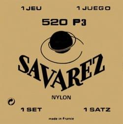 Cordes pour Guitare Classique - Cordes Savarez Guitare classique Concert 520 P3 - Accessoire - di-arezzo.fr