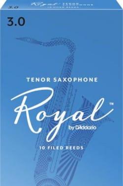 D'Addario Rico Royal - Anches Saxophone Ténor 3.0 laflutedepan
