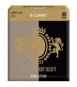 Anches pour Clarinette Sib - D'addario Rico Grand Concert - Reeds Clarinet Bb 3.5 - Accessory - di-arezzo.co.uk