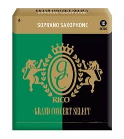 D'addario Rico Grand Concert - Anches Saxophone Soprano Force 4 laflutedepan