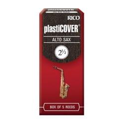 D'addario Rico Plasticover - Anches Saxophone Alto 2.5 laflutedepan