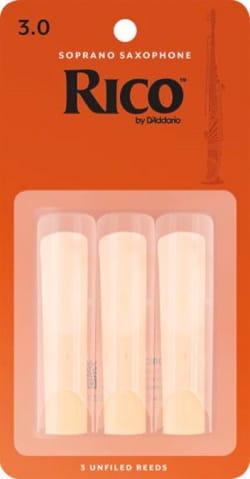 D'addario Rico - Anches Saxophone Soprano 3.0 laflutedepan