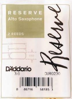 Anches pour Saxophone Alto - D'Addario Reserve - Cañas para saxofón alto 3.0 - Accesorio - di-arezzo.es