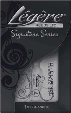 Anche pour Clarinette Sib LÉGÈRE™ - Bb Clarinet Light Reed (ALE-BBES4) - European Cut - Strength 4 - Accessory - di-arezzo.com