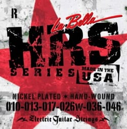 Cordes pour Guitare - BELLA HRSR Nickel-Plated Round Wound Guitar String Set - Accessory - di-arezzo.co.uk