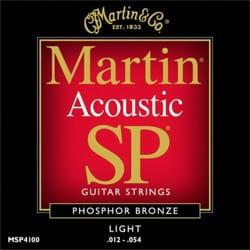 Cordes pour Guitare - Guitar String Set MARTIN FOLK Bronze light - 12-54 - Accessory - di-arezzo.co.uk