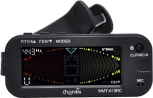 Accordeur pour Guitare - Tuner metronome-tuner Cherub WMT-610RC - Accessory - di-arezzo.co.uk