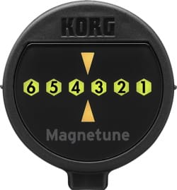 Accordeur pour Guitare - Korg MG1 Magnetic Guitar and Bass Tuner - Accessory - di-arezzo.co.uk