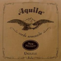Jeu de Cordes pour Ukulélé Soprano C G Aquila 4U laflutedepan