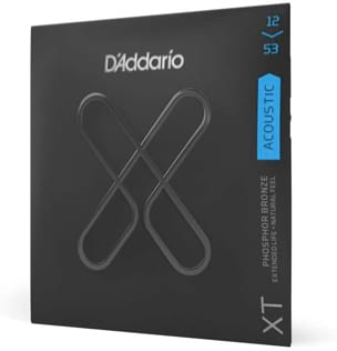 Jeu de Cordes Guitare accoustique D'ADDARIO - EXP16NY Light, 12-53 laflutedepan
