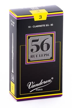 Anches pour Clarinette Sib VANDOREN® - Vandoren CR503 - Reeds LEPIC Clarinet B flat 3.0 - Accessory - di-arezzo.co.uk
