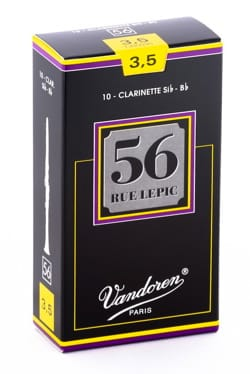 Anches pour Clarinette Sib VANDOREN® - Vandoren CR5035 - Reeds LEPIC Clarinet B flat 3.5 - Accessory - di-arezzo.co.uk