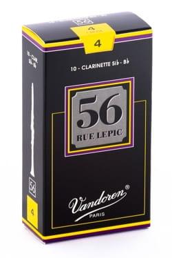 Anches pour Clarinette Sib VANDOREN® - Vandoren CR504 - Reeds LEPIC Clarinet B flat 4.0 - Accessory - di-arezzo.com
