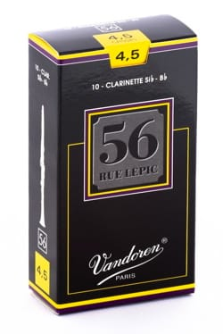 Vandoren CR5045 - Anches LEPIC Clarinette Si bémol 4.5 laflutedepan
