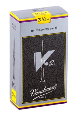 Vandoren CR1935+ - Anches V12 Clarinette Si bémol 3.5+ laflutedepan