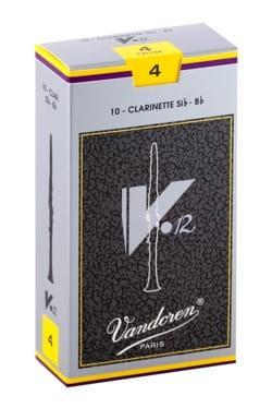 Anches pour Clarinette Sib VANDOREN® - Vandoren CR194 - Reeds V12 Clarinet B flat 4.0 - Accessory - di-arezzo.com